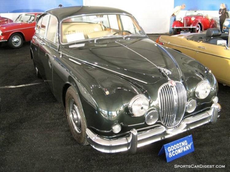 1962 Jaguar Mk 2 3.8 4-Dr. Sedan