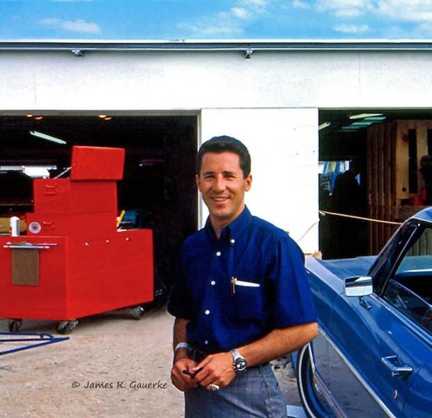 Mario Andretti 1967 Daytona 24 Hours portrait