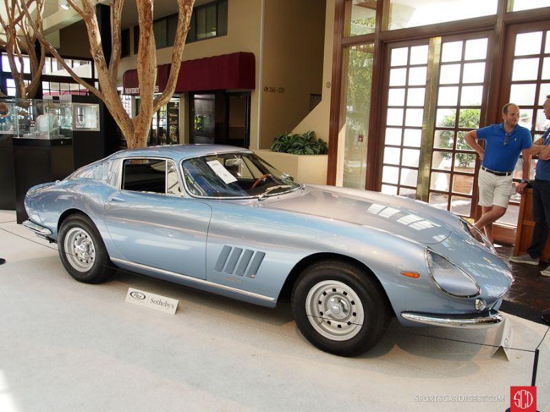 1966 Ferrari 275 GTB Alloy Coupe, Body by Scaglietti;