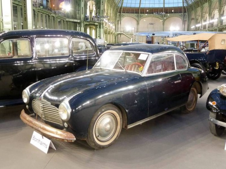 1951 Simca 8 Type 1200 Sport Coupe, Body by Figoni & Falaschi