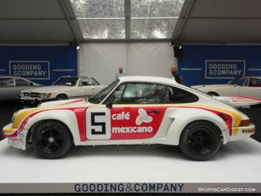 1974 Porsche 911 Carrera RSR 3.0 Coupe
