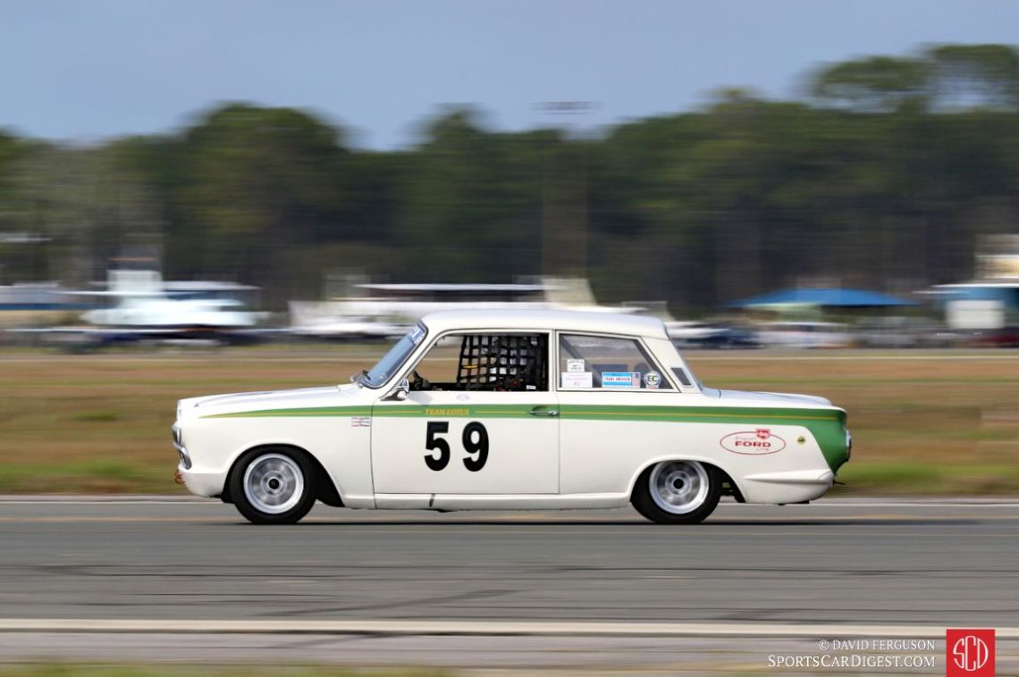 Don Heth's 1966 Ford Lotus Cortina