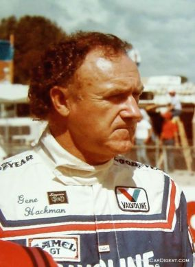 Actor Gene Hackman drove a Mazda RX-7 at Sebring in 1984. The incredibly busy Hackman had no less than four films released between 1983 and 1984. SIR photo.