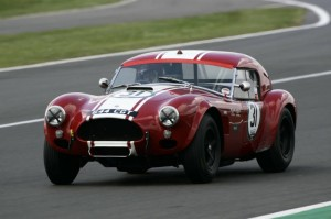 Shaun Lynn in Shelby AC Cobra
