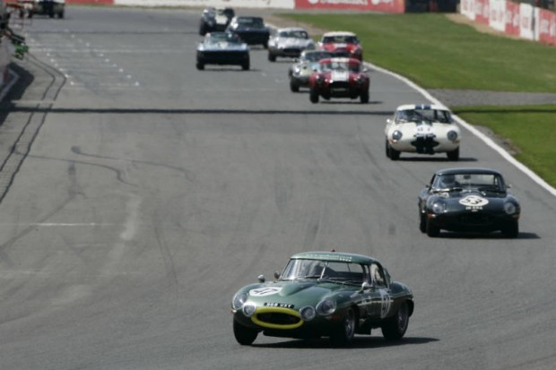 Jaguar E-Types at Masters Gentleman Drivers GT & Sports Endurance
