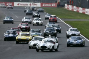 Start of Sunday's Masters Gentleman Drivers GT & Sports Endurance Race
