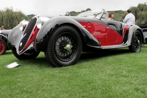 1939 Alfa Romeo 6C2500 - Tony Shooshani.  Photo William Edgar