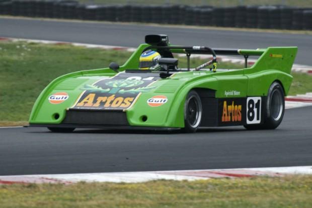 Sauber C4 of Brian Groza in Turn 5.