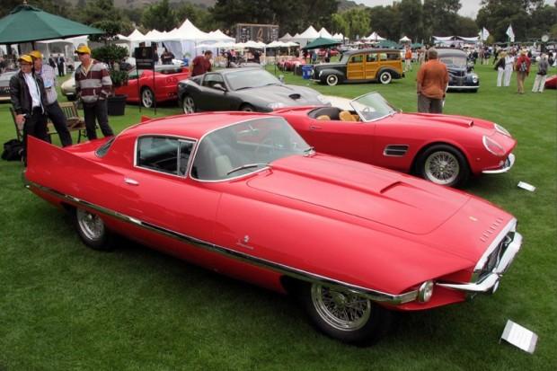 1956 Ferrari 410 Series I Ghia Body Superamerica