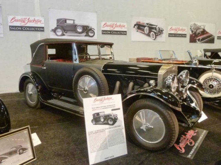 1927 Mercedes-Benz 630K Drophead Coupe Sport Touring, Body by Thomas Harrington