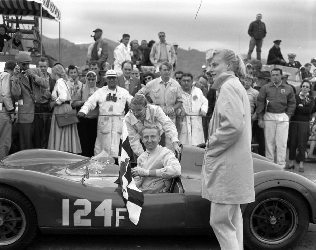 Pete Lovely drove his Porsche-VW Special the 1,000 miles from Seattle to San Francisco to enter the 1954 Golden Gate. He placed second in the Mayor's Cup for cars under 1500cc. In the main event—the Guardsmen's Trophy—he was first in Class F and 11th overall. (photo credit: Lovely Collection)