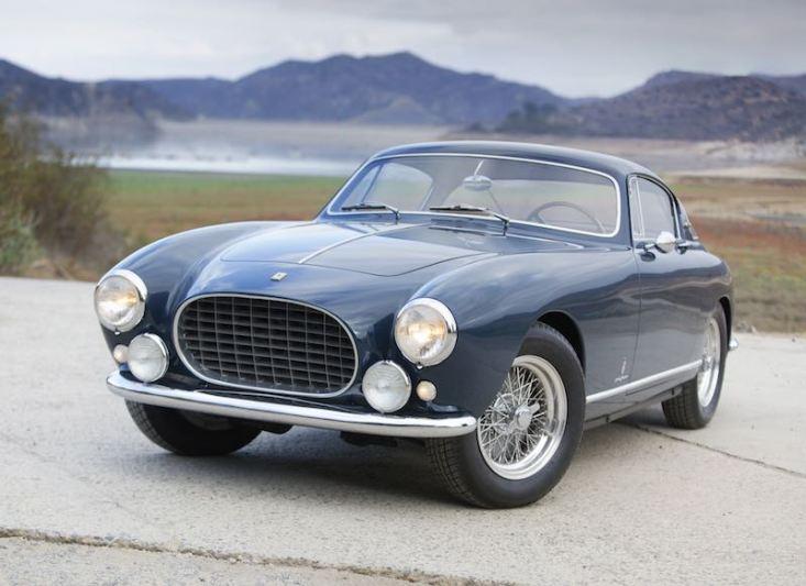 1955 Ferrari 250 Europa GT Alloy Coupe