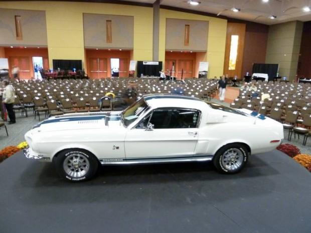 1968 Shelby Mustang GT500KR Fastback