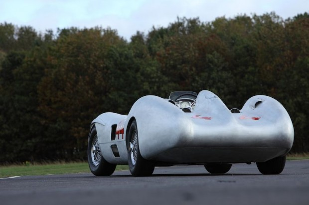 The Streamliner during a test session at Bruntingthorpe Proving Ground in the UK. (Photo: Laurence Baker)