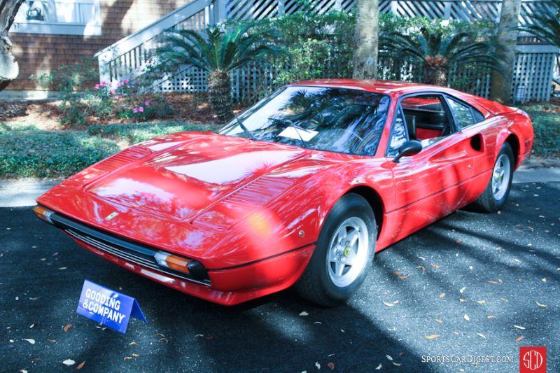 1976 Ferrari 308 GTB Vetroresina Coupe, Body by Scaglietti