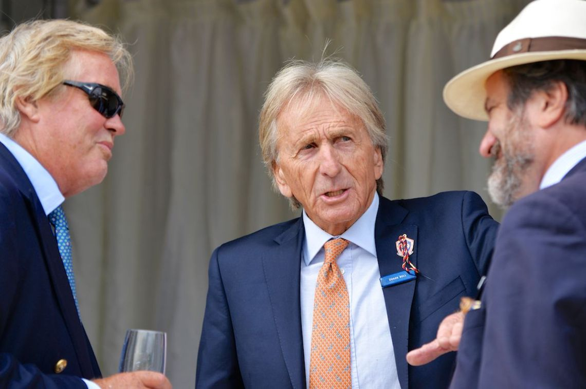 Five time 24 Hours of Le Mans winner Derek Bell was on hand and led judges