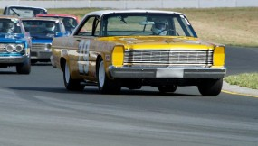 1966 Ford Galaxie piloted by Scott Rubin
