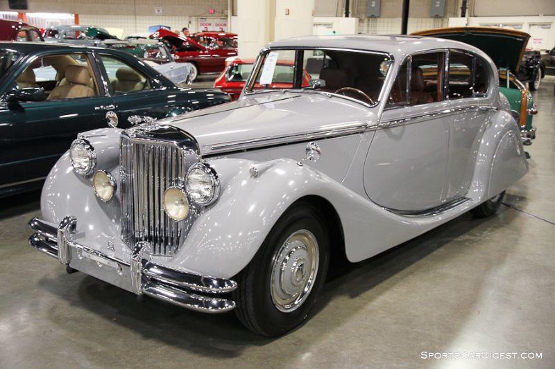 1950 Jaguar Mark V 4-Dr. Sedan