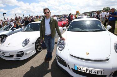 Mark Porsche, son of 911 designer, Ferdinand Alexander 'Butzi' Porsche