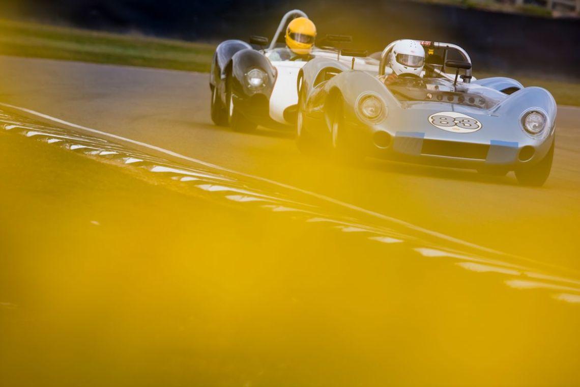 Marcus Mussa piloting the McLaren-Chevrolet M1B (Photo: Drew Gibson)