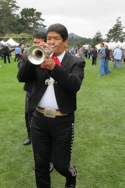 Mariachis at Quail Motorsports Gathering 2011. Photo Sharon Edgar