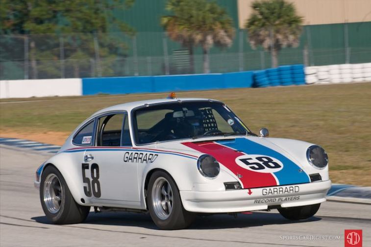 Brumos Porsche 911 Carrera RSR (photo: Dennis Gray)