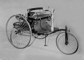 The 1885 Benz is credited with being the first purpose-built automobile