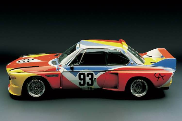 Alexander Calder 1975 BMW 3.0 CSL