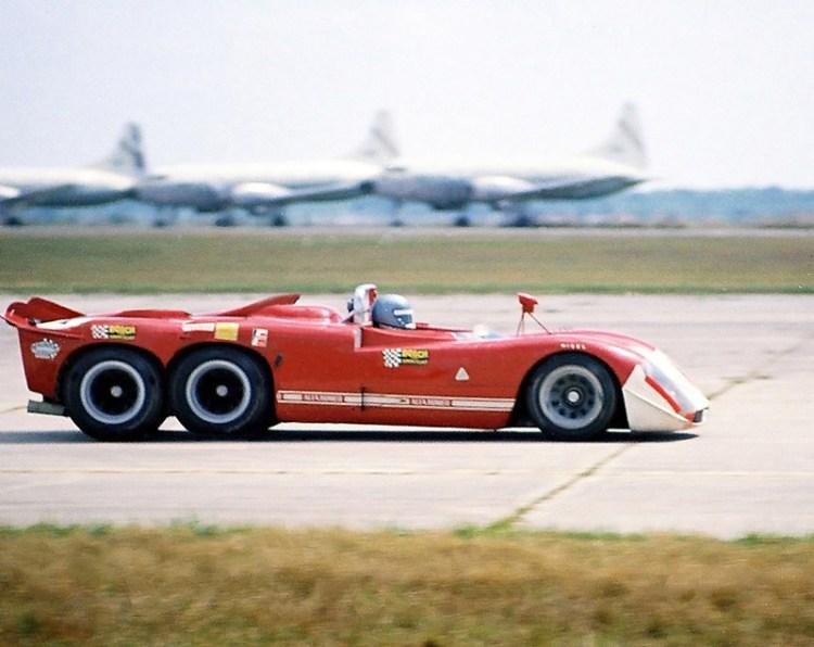 Alfa Romeo T33/6/12 6-Wheel Project Race Car