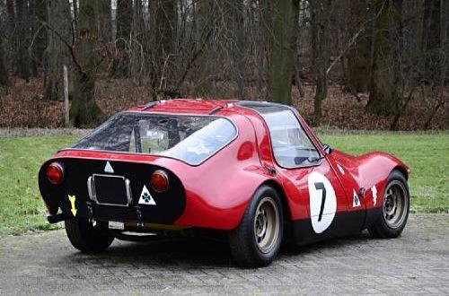 Alfa Romeo Giulia TZ Prototipo Berlinetta Rear