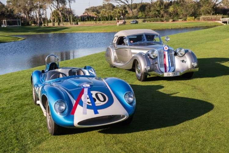 Best of Shows Winners - 1937 Horch 853 and 1958 Scarab (photo: Dirk de Jager)