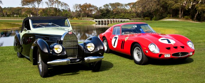 Best of Show Winners at the 2012 Amelia Island Concours d'Elegance