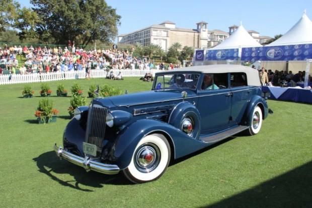 1937 Packard 1508 Convertible Sedan