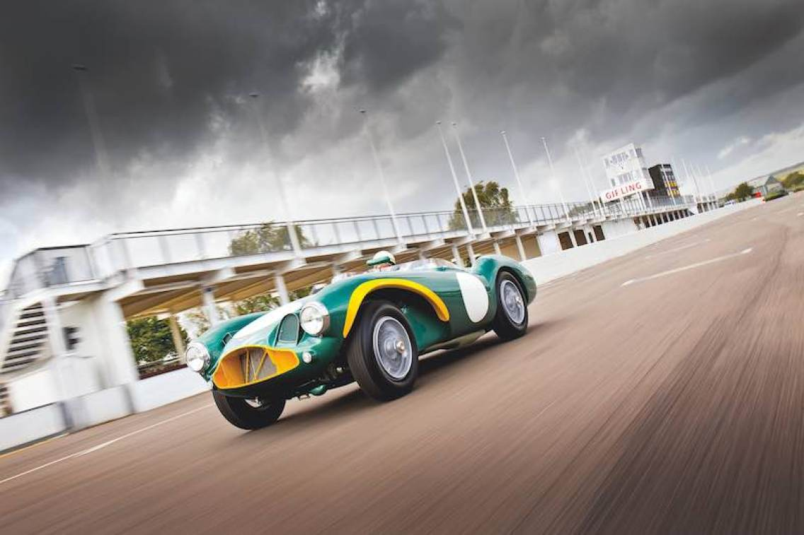 Aston Martin DB3S at Goodwood (photo: Matt Howell | Vantage Magazine)