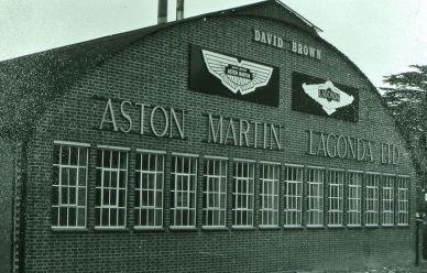 Aston Martin Heritage Showroom