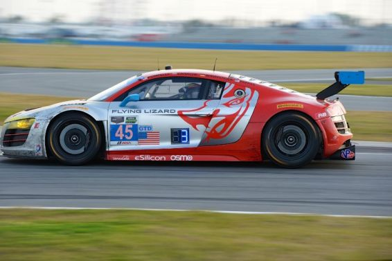 #45 Audi R8 LMS of Flying Lizard Motorsports