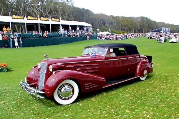 1934 Cadillac Victoria Convertible Coupe