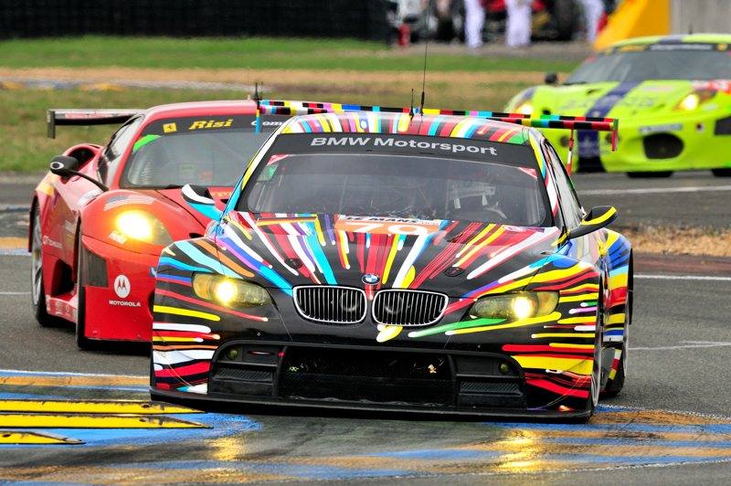 jeff koons bmw art car at le mans 24 hours 2010. Black Bedroom Furniture Sets. Home Design Ideas