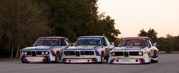BMW CSLs at Savannah Speed Classic 2011