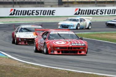 BASF BMW M1 Procar at 2008 German Grand Prix