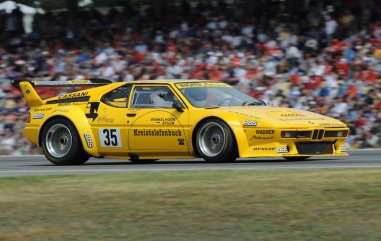 BMW M1 Procar during revival held at 2008 German Grand Prix