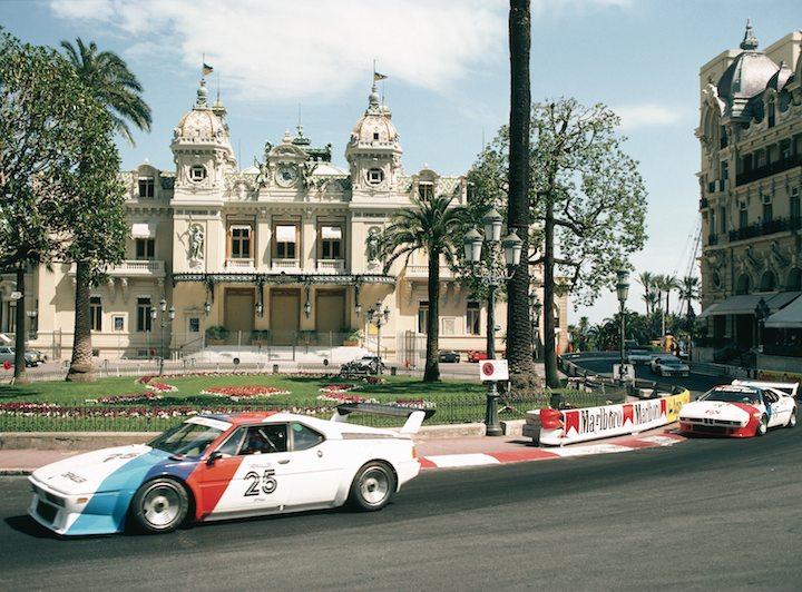 BMW M1 Procar race in Monaco