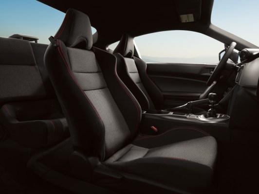 Interior of the 2014 Subaru BRZ