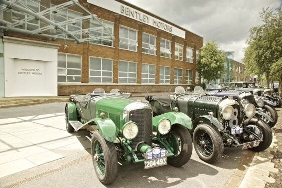 Bentley Drivers Club Tour at Crewe Headquarters