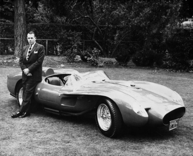 Bev Spencer with Ferrari 250 Testa Rossa 0666TR