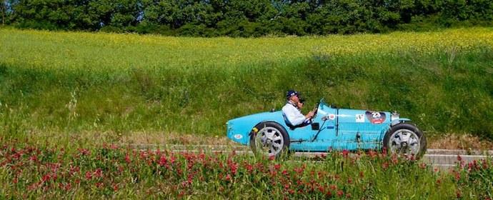 Bugatti Type 35 at Mille Miglia 2011
