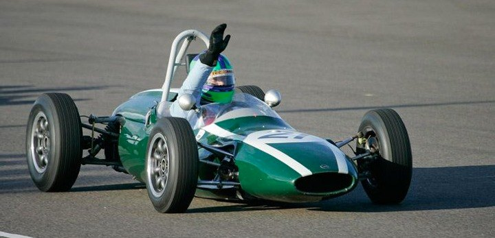 Cooper T59 of race winner Sam Wilson