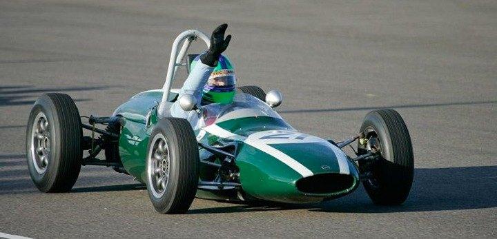 Cooper T59 of race winner Sam Wilson