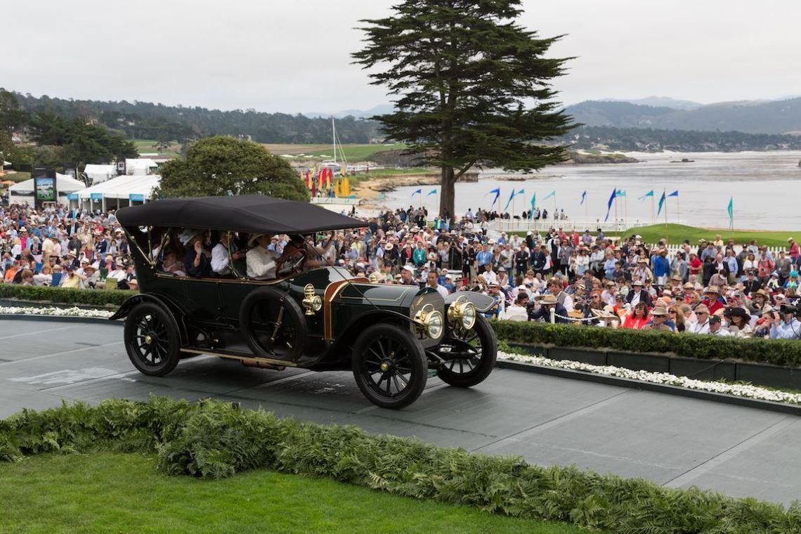 Class A-1: Antique Open, 1911 Mercedes 70 HP Vanvooren Seven Passenger Touring, The Keller Collection at the Pyramids, Petaluma, California