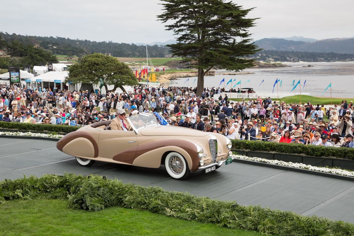 Pebble beach concours 2016 class winners photo gallery for Pebble beach collection